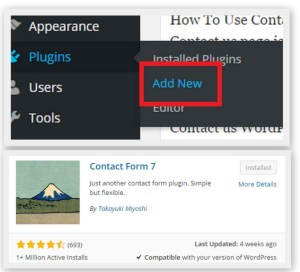 How To Use Contact Form 7