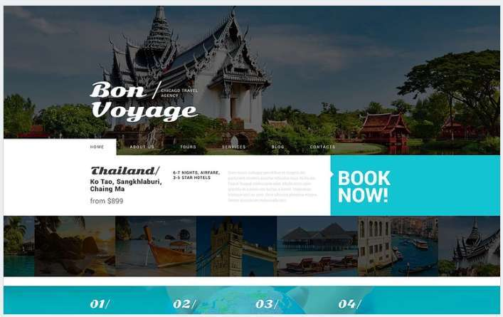 Travel WordPress Theme