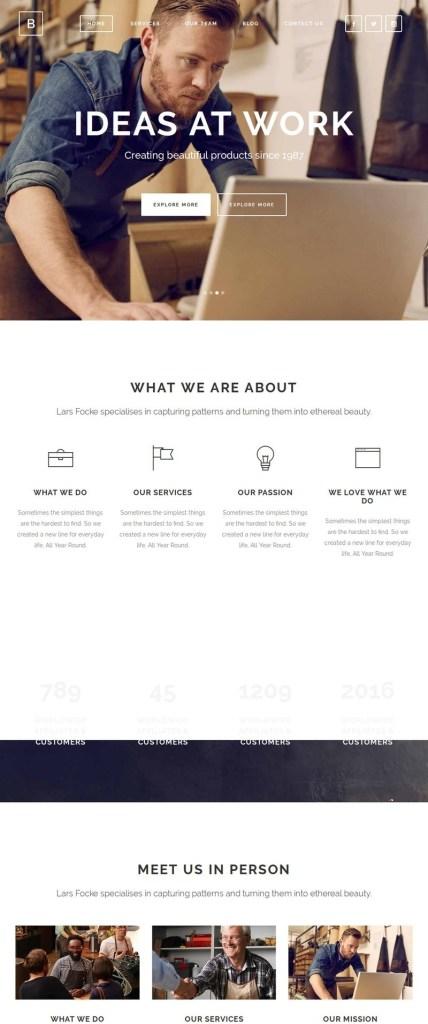 Startup WordPress themes