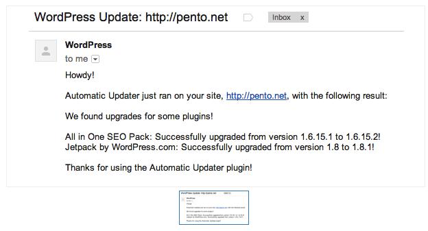 Automatically Update WordPress Plugins