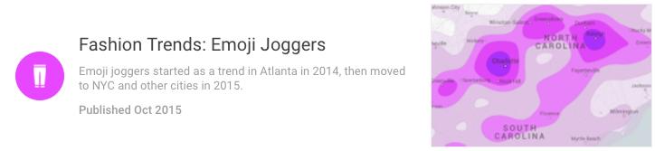 Google shopping insights for emoji joggers