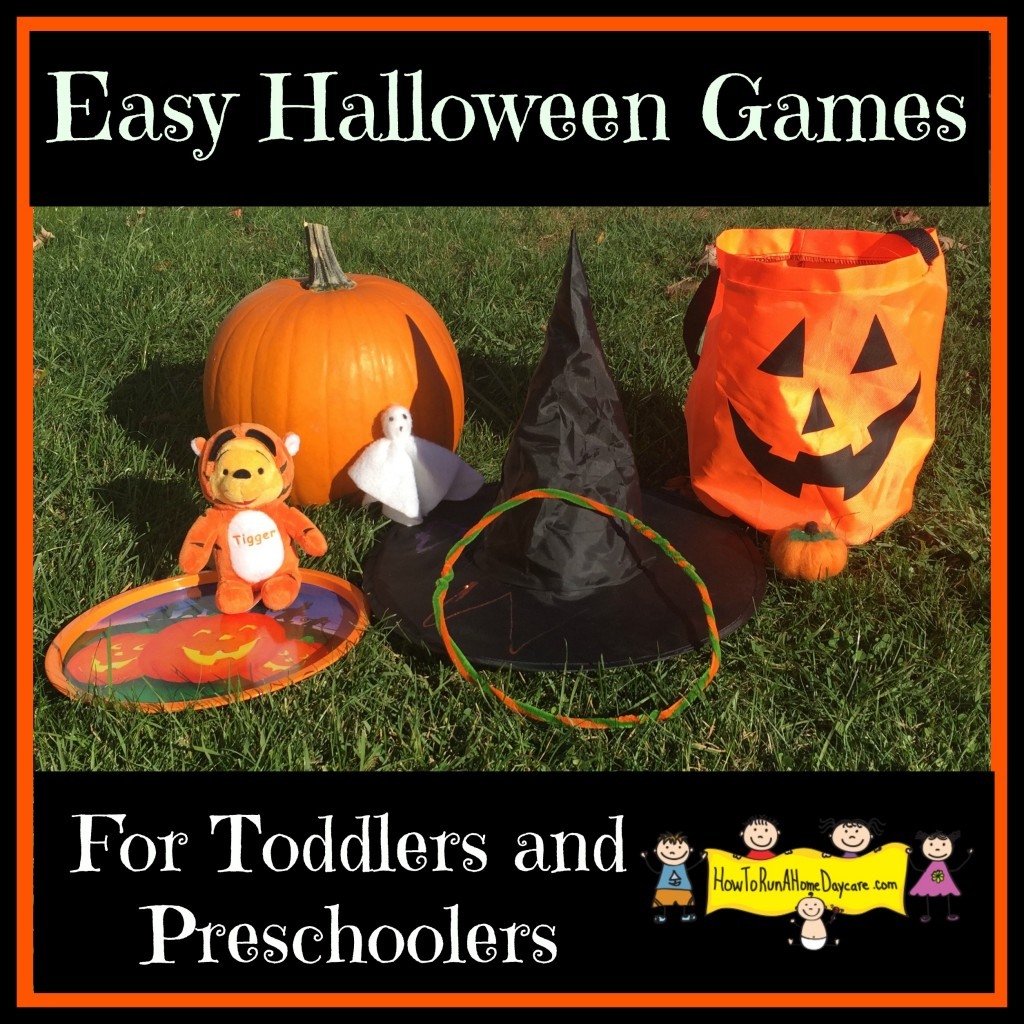 Easy Halloween Games For Toddlers And Preschoolers