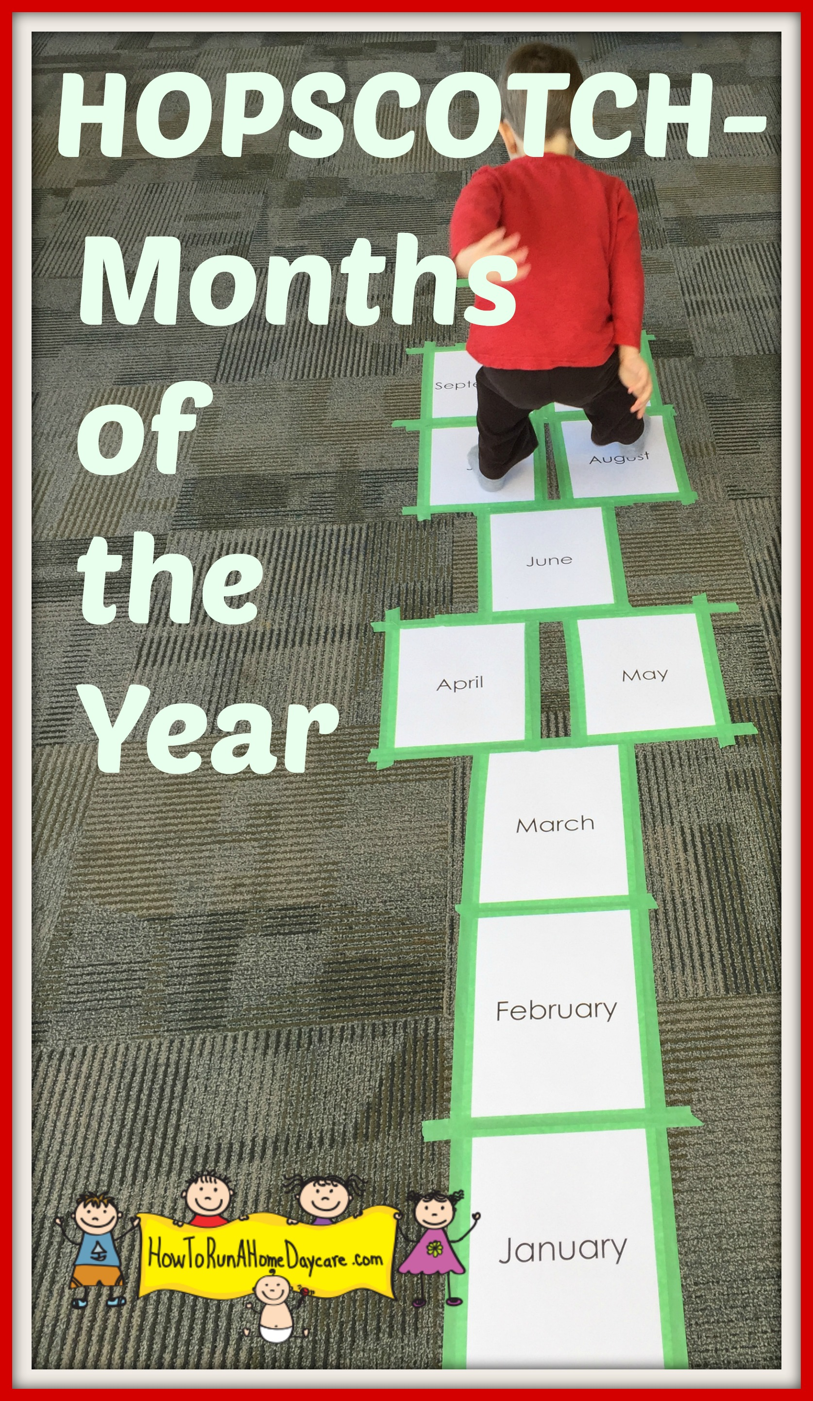 Hopscotch Months Of The Year