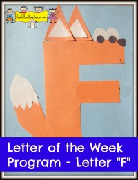 "Letter ""F""- Letter of the Week Program - How To Run A Home ..."