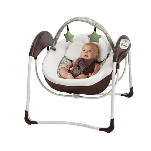 graco swing chair zebra wingback recliner glider lite lx gliding how to safety car seat sale