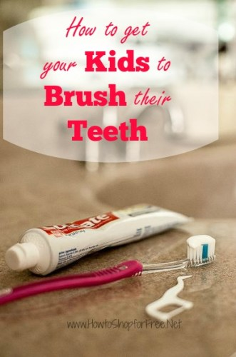 how to get kids to brush teeth