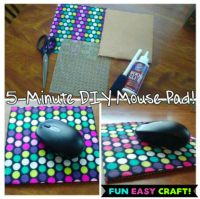 DIY 5min Mouse Pad | How to Shop For Free with Kathy Spencer