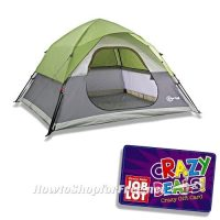 Embark 2 Person Tent & 6 Person Tent C&ing Dome ...