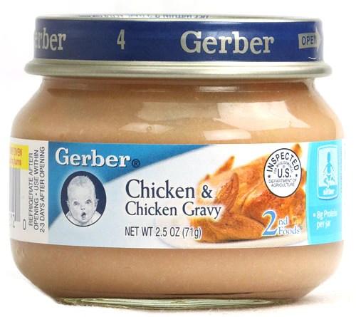 gerber baby food jars