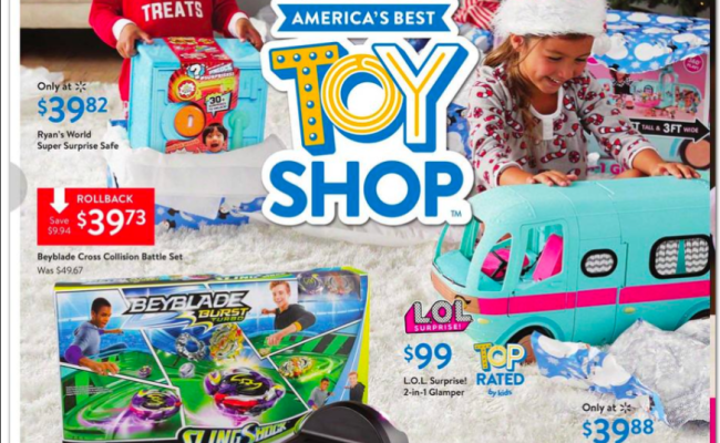 Walmart 2019 Toy Book How To Shop For Free With Kathy