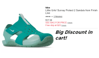 Nike Sandals Glitch | How to Shop For Free with Kathy Spencer