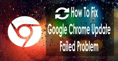 Google Chrome Update Fix