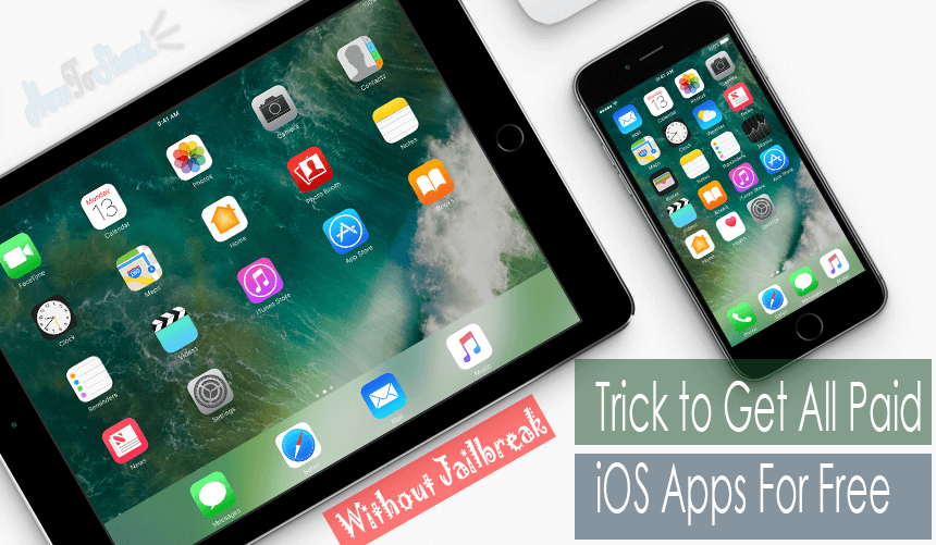 How To Download Paid iOS apps For iPhone or iPad For Free