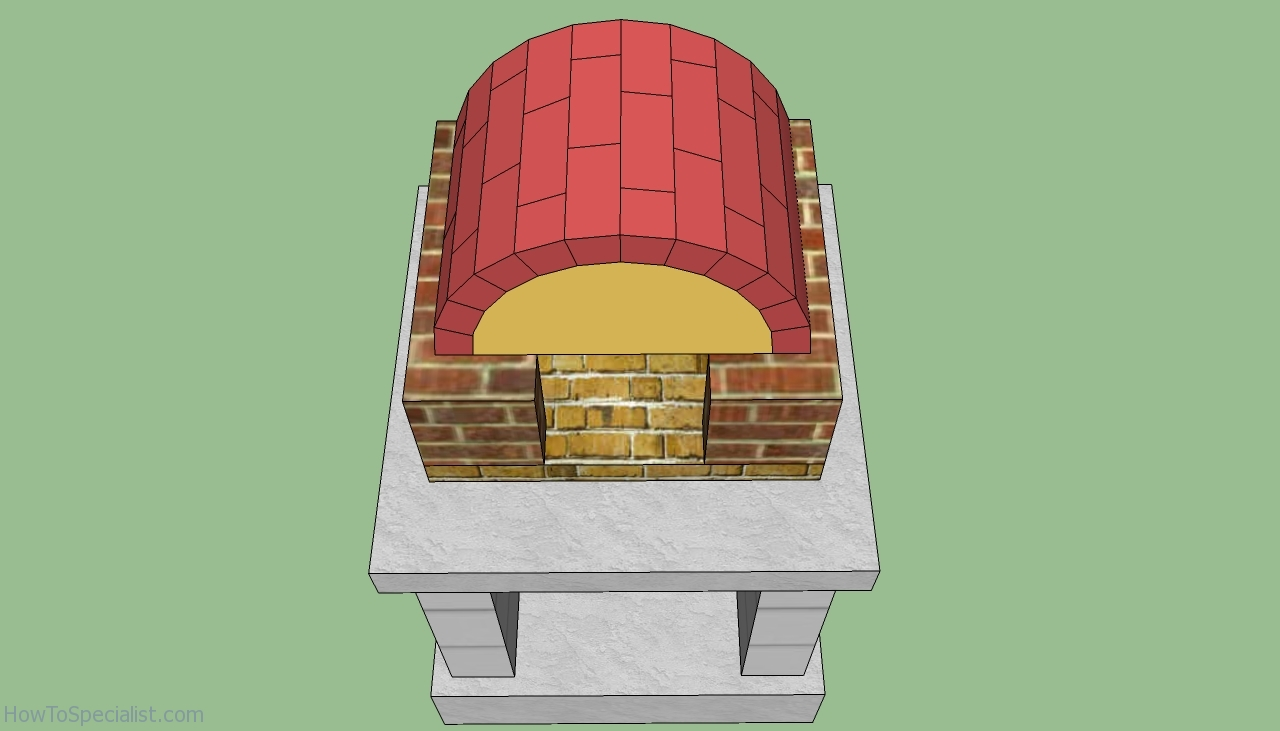 wood fire pizza oven plans