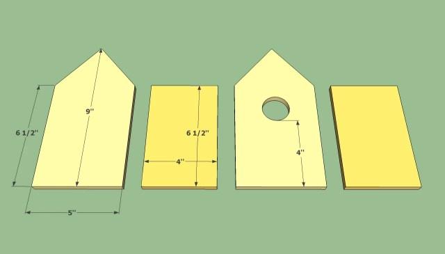 Wood Birds Houses Plan Free