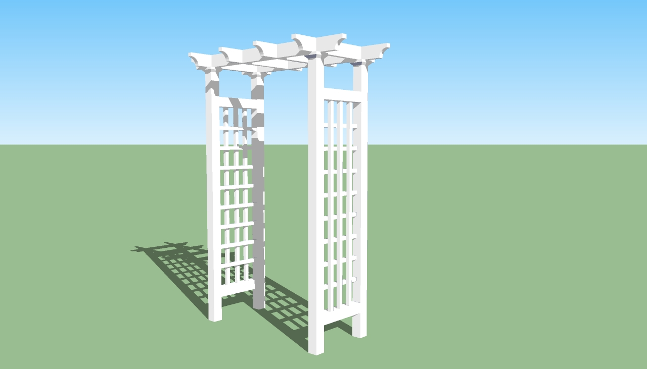 timber arbor plans