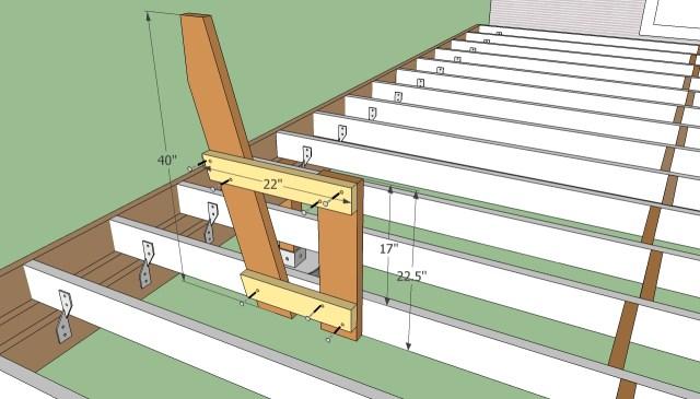 Deck Bench Plans Free