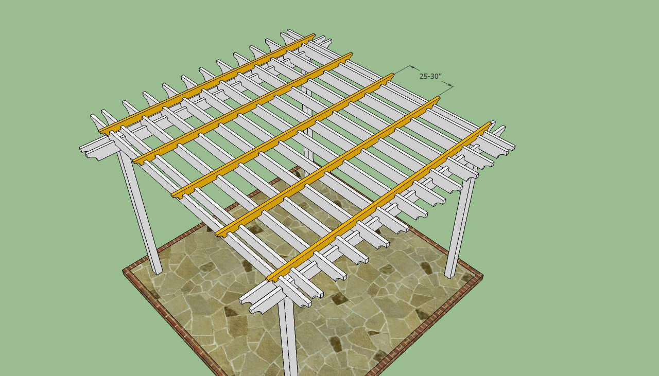 plans building your own pergola