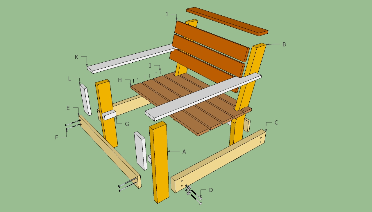 Outdoor Wood Chair Plans Free  Wooden Pallet Patio Furniture Plans Home Outdoor Design Specialist  . Outdoor Furniture Plans Free. Home Design Ideas