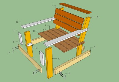 Free Do It Yourself Deck Porch Patio And Garden Furniture
