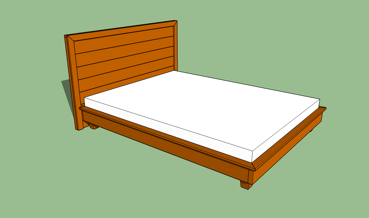 Making A Platform Bed Frame Quick Woodworking Ideas   Designmore