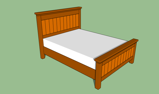 ... plans for building a queen size bed frame PDF Free Download