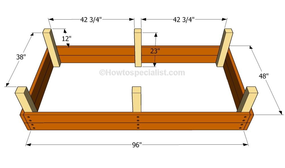 medium resolution of building the raised bed