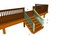 How to build a porch stair railing   HowToSpecialist - How ...
