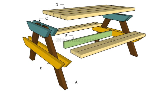 ... kids picnic table plans Download Top Free Woodworking PDF Plans