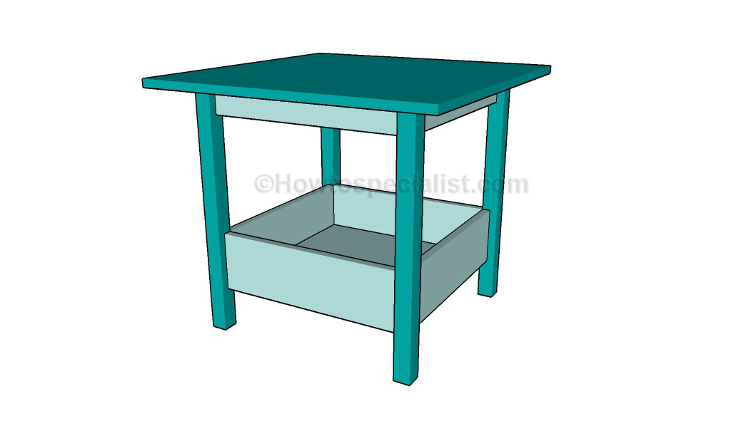 wood project plans activity table