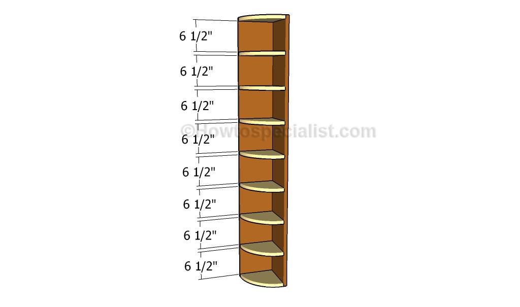 free corner shelf woodworking plans
