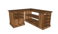 Corner desk plans   HowToSpecialist - How to Build, Step ...