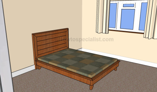 Full Size Headboard Plans Howtospecialist How To Build