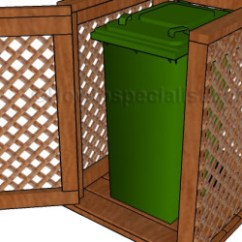 Wooden Play Kitchen Booster Seat Trash Can Enclosure Plans | Howtospecialist - How To Build ...
