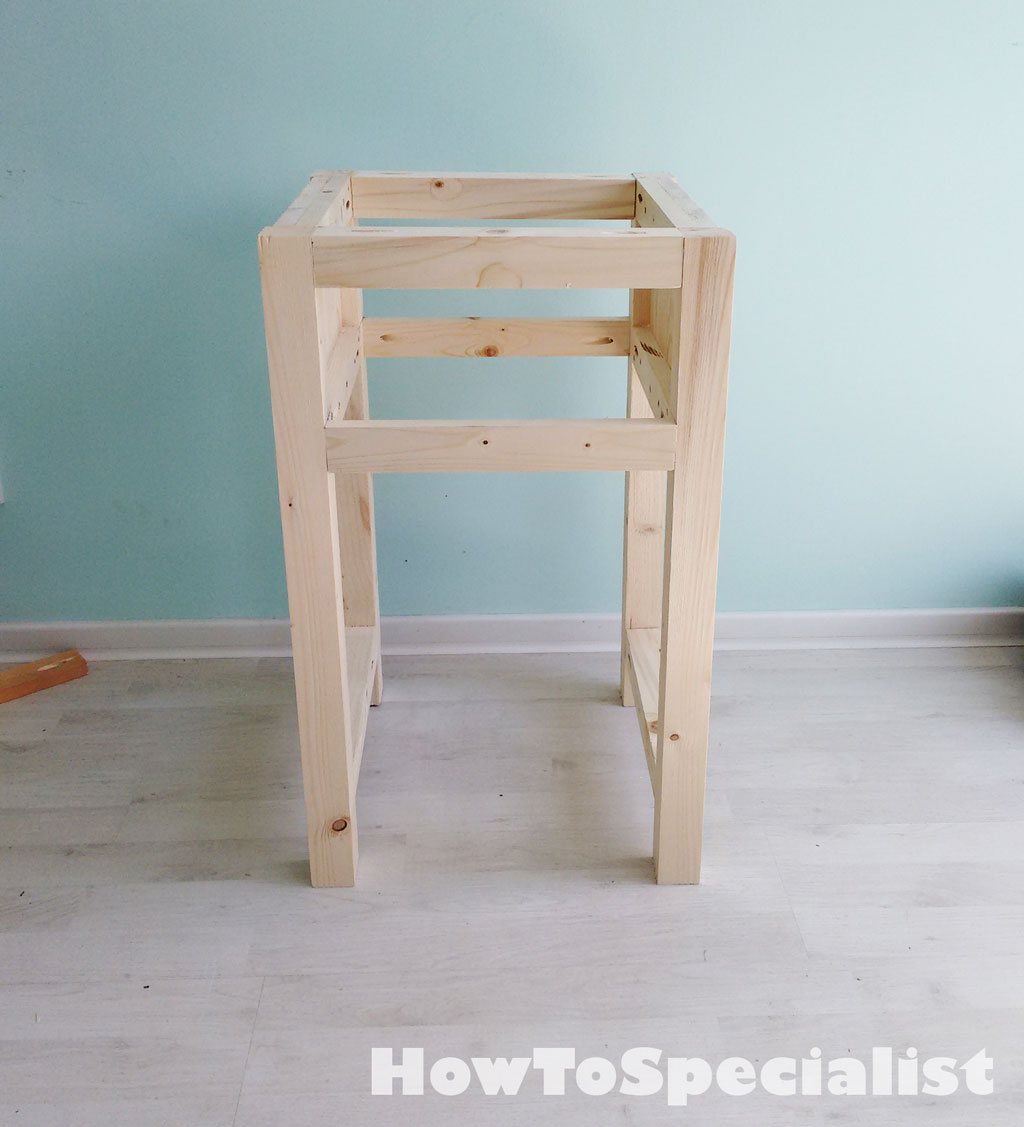 How To Build A Farmhouse Nightstand HowToSpecialist
