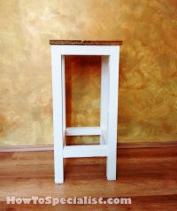 How to build a wood bar stool | HowToSpecialist - How to ...