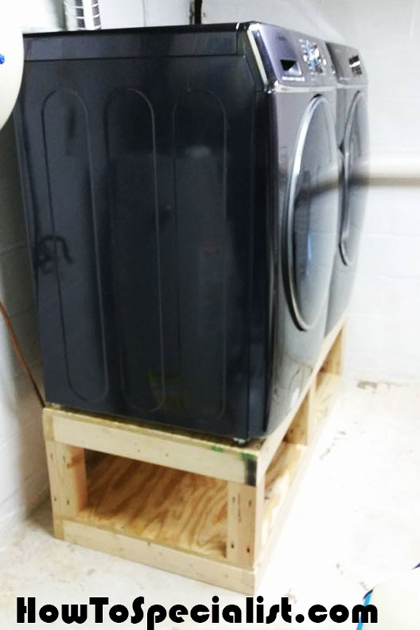 Diy Washer Dryer Pedestal Howtospecialist How To Build