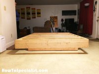 Diy Floating Platform Bed Frame Queen