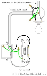 Wiring A 2 Way Light Switch Diagram | Get Free Image About ...
