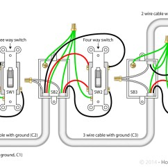 Wiring Diagram For 4 Way Switch Help With Ge Jasco Light Switches Connected Dryer Outlet Receptacle 3 Best Library Power Feed Via How To Wire A Rh Howtowirealightswitch Com