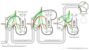 Wire Light Switch From Schematic Diagram | Wiring Library