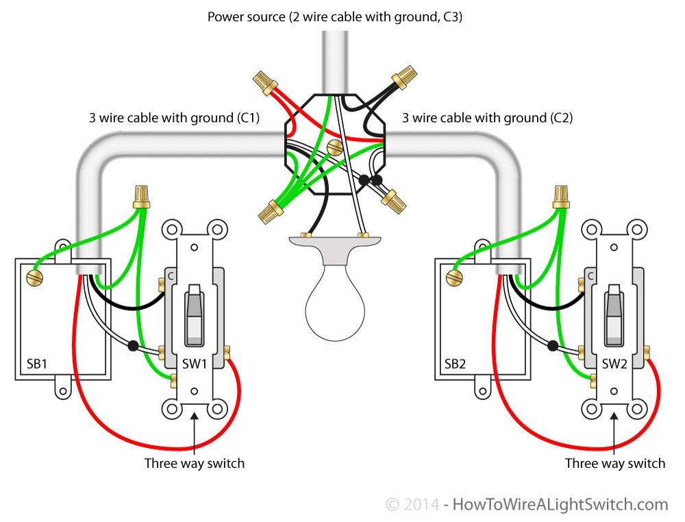 Wiring 2 Wire Light To 3 Wire