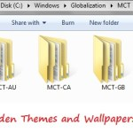 How to get Hidden Themes and Wallpapers in Windows 7