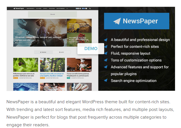 NewsPaper_Newspaper WordPress Themes