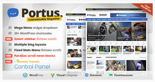 Portus - News Portal & Magazine WordPress Theme_Newspaper WordPress Themes
