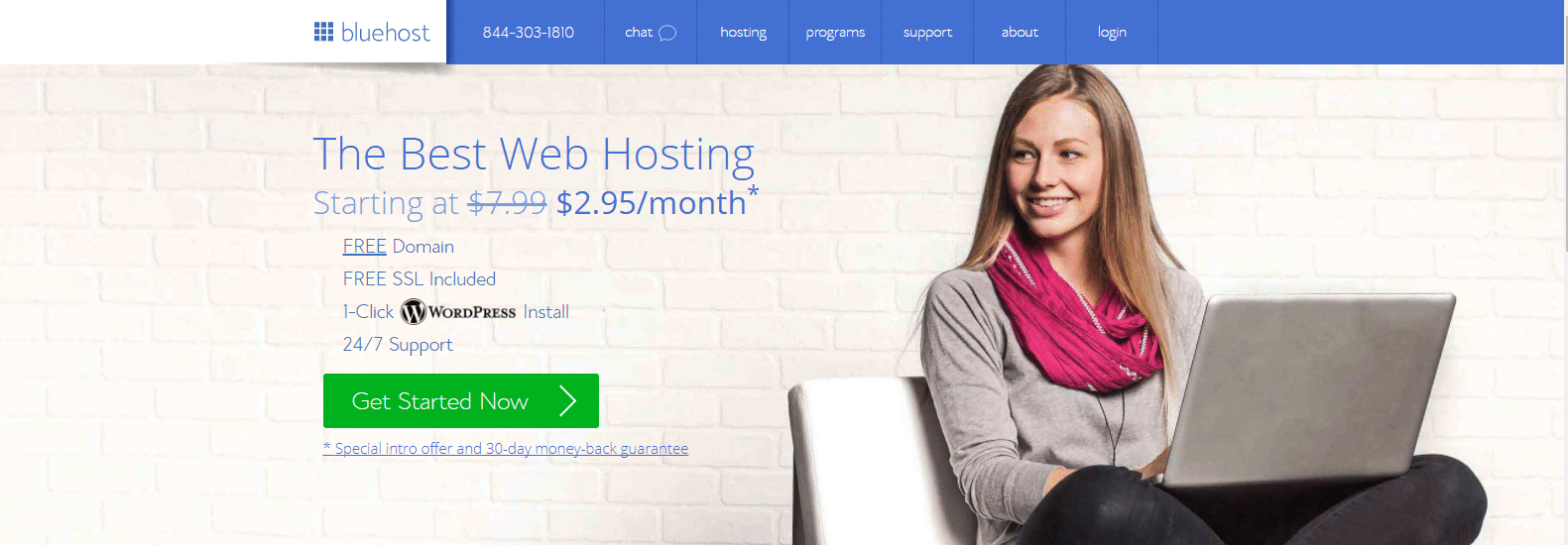 BlueHost Best Cheap WordPress Hosting Services for Small Sites
