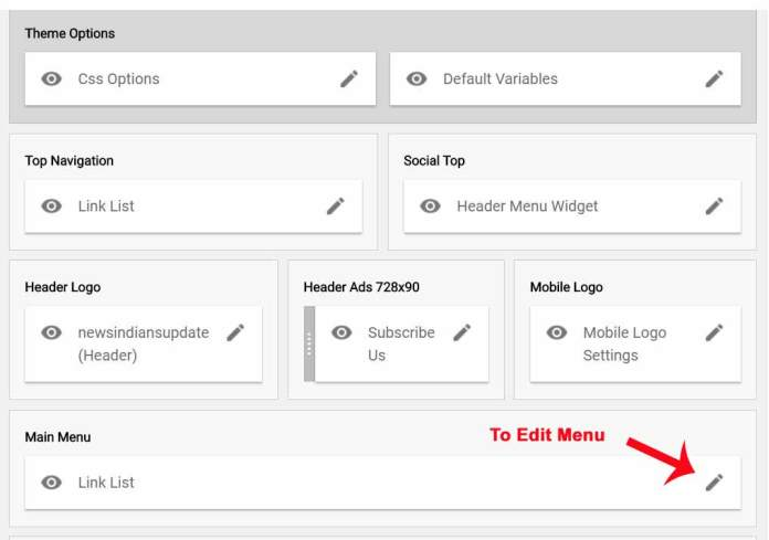 How to Create drop down Navigation Menu with Submenu in Blogger?
