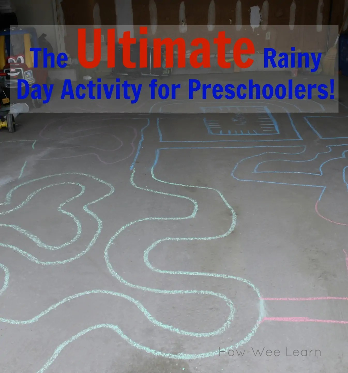 The Ultimate Rainy Day Activity For Preschoolers