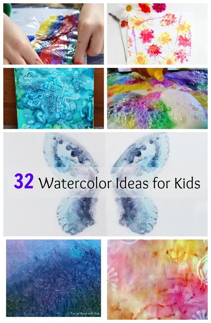 32 easy watercolor painting