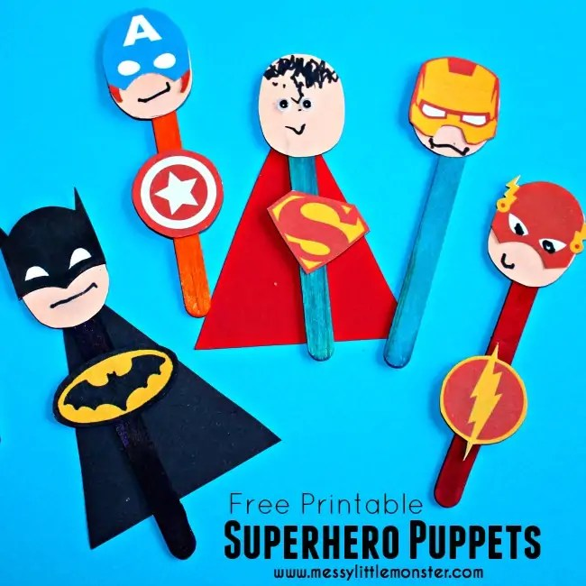 DIY Puppets How Wee Learn